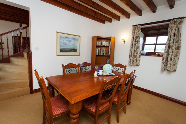 Dining Room, Barn Cottage, East Briscoe (Teesdale, County Durham self catering accommodation)