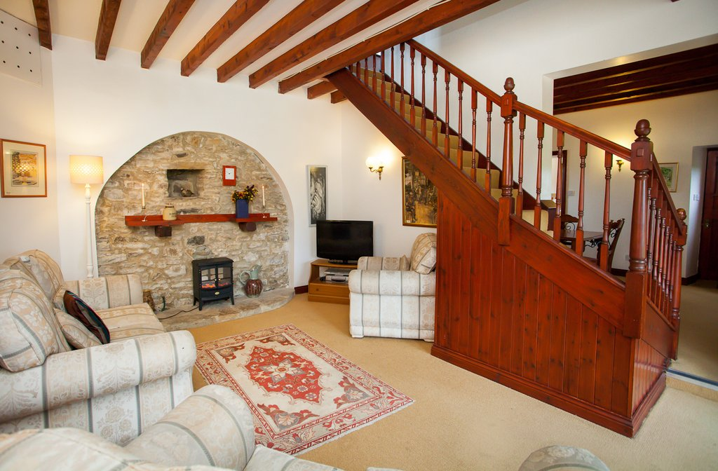 Barn Cottage Living Room, Teesdale, County Durham Holiday Cottage